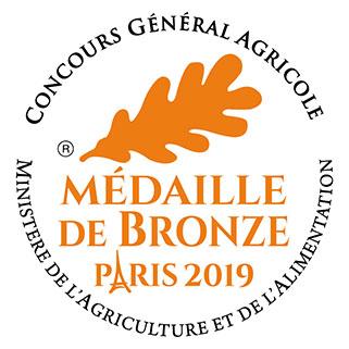 """Notre cuvée """"Harmonie"""" 2017 a reçu une médaille de Bronze au Concours Général Agricole."""