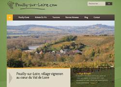 pouilly-sur-loire.com le site de Pouilly-sur-Loire